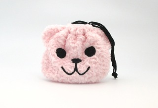 Overstocked - beary pouch bag