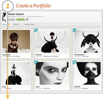 Artist: Step 1 - Create a Portfolio